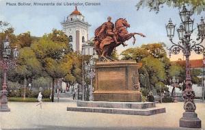 Venezuela Caracas, Monumente del Libertador, Plaza Bolivar, Statue