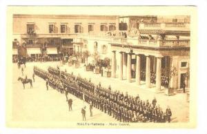 MALTA-Valletta - Main Guard, 1910s