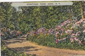 New York Greetings From Acra 1940