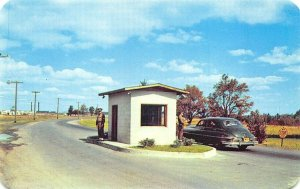Camp Drum (Fort Drum) NY Gate #1 Leads to The Military Highway Postcard