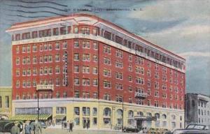 North Carolina Greensboro The O Henry Hotel 1953