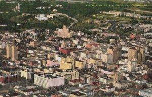 Postcard Aerial View San Diego California