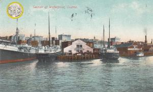 SEATTLE , Washington, PU-1910 ; Section of Water Front, Boats