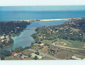 Pre-1980 AERIAL VIEW Rehoboth Beach Delaware DE AC9697