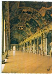 France, CHATEAU DE VERSAILLES, La Galerie des Glaces, unused Postcard