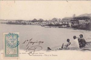 Madagascar Andovoranto Fete a la Douane 1910
