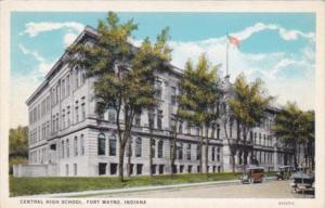Indiana Fort Wayne Central High School Curteich
