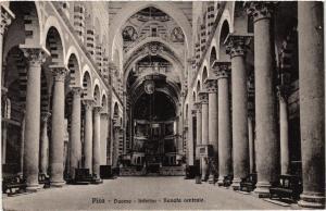CPA PISA Duomo Interno Navata centrale. ITALY (468057)