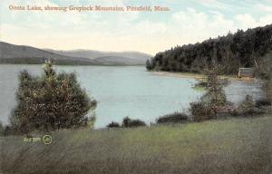 Pittsfield Massachusetts~Onata Lake~Greylock Mountains~Cabin on Waterfront~1908