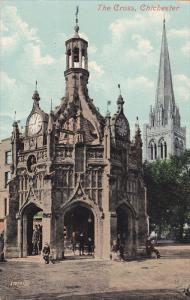 CHICHESTER, Sussex, England, 1900-1910's; The Cross