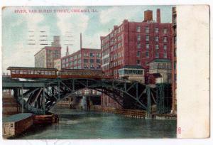 River, Van Buren St, Chicago Ill