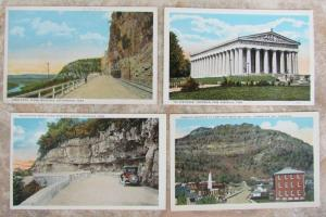 LOT OF 4 ANTIQUE POSTCARDS - VIEWS OF TENNESEE