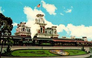 Florida Orlando Walt Disney World Old Fashioned Narrow Gauge Steam Train