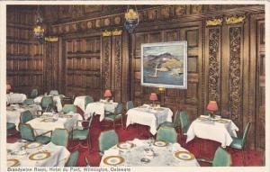 Delaware Wilmington Brandywine Room Hotel Du Pont