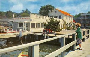 Port Jefferson Long Island New York Bayles Landing Vintage Postcard JE228266