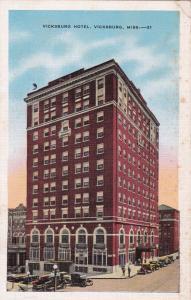 VICKSBURG, Mississippi , PU-1941; Vicksburg Hotel
