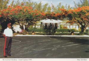 Governors Residence Grand Canyon Cayman Islands West Indies Postcard