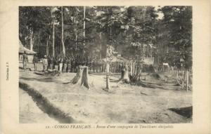 CPA Francais Congo Afrique - Revue d'une compagnie (86659)