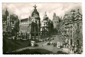 RP, Street View, Avenida De Jose Antonio, Madrid, Spain, 1920-1940s