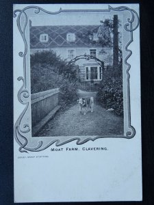 Essex Country Life CLAVERING Moat Farm Old Postcard by Copley, Bishop Stortford