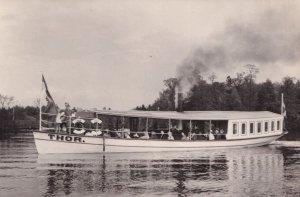 Thor Old Switzerland Boat 1887 Swiss Museum Postcard