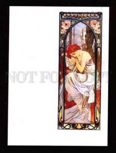 020325 ART NOUVEAU Nymph by Alphonse MUCHA modern