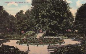 Jones Park Gardens - Rochester, New York - pm 1917 - DB