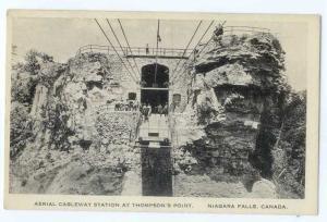 W/B Aerial Cableway Station at Thompson's Point Niagara Fall