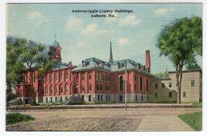 Auburn, Me, Androscoggin County Buildings