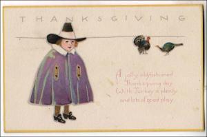 Thanksgiving, Pilgrim Boy