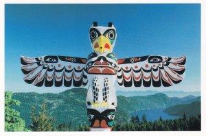 VANCOUVER, British Columbia, Canada, 1950-1970s; Salish Totem, Malahat