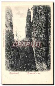 Old Postcard Wolfsschuchi of Echternach