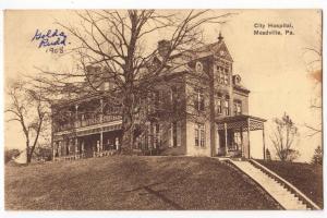 City Hospital, Meadville PA