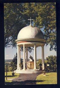 Auriesville, New York/NY Postcard, Martyrs Shrine, Pieta Of Achtermann Replica