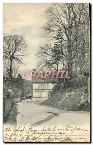 Old Postcard La Foret Lyons La Rigole
