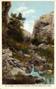 Arizona Winslow Little Colorado Canyon Fred Harvey