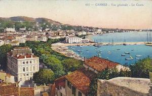 Boats, Vue Generale- Le Cours, Cannes (Alpes Maritimes), France, 1900-1910s