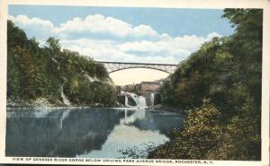 View under Driving Park Avenue Bridge - Rochester, New York - WB