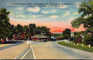 Pennsylvania Harrisburg Amity Hall  1945 Curteich