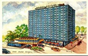 Connecticut Hartford Hotel Statler