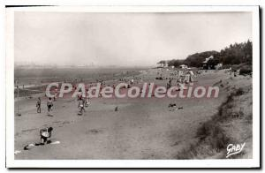 Postcard Old St Brevin Les Pins Beach