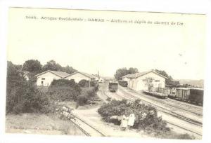 DAKAR - Ateliers et depot du chemin de fer , SENEGAL, 00-10s