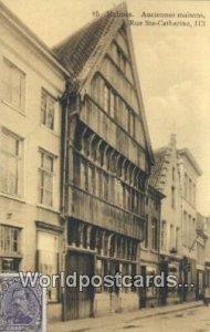 Anciennes Maisons Malines, Belgium 1921