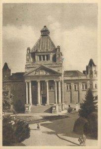 Romania Palatul Cultural Cartolina Postale Arad