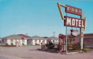 Fort Motel, Fort MacLeod, Alberta, Canada, 40´s-60´s