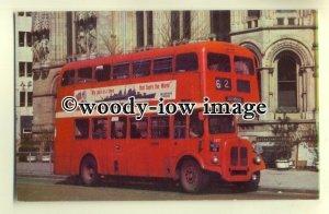 tm5486 - Manchester City Bus no 4637 - postcard