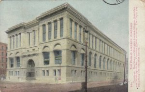 CHICAGO , Illinois , 1910 ; Public Library