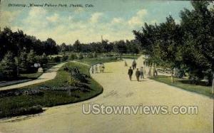 Driveway, Mineral Palace Park