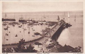 Sailboats, The Pier, TORQUAY (Devon), England, UK, 1910-1920s