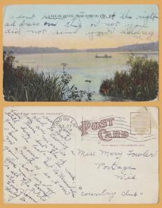 Fond du Lac, WIS., Lake De Nevue, near Fond du Lac - 1910